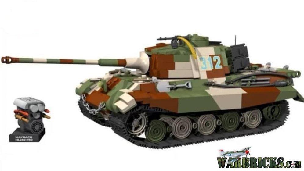COBI PzKpfw VI Tiger II Tank Set