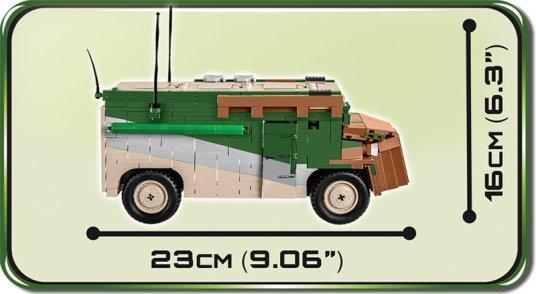 COBI ROMMEL'S Mammut Set Size