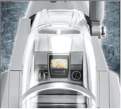 COBI Rafale C Cockpit
