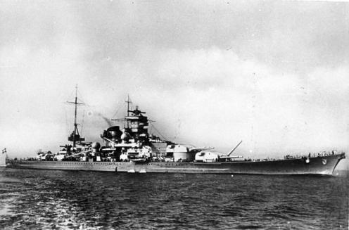 COBI-Real-Battleship-Scharnhorst-Set
