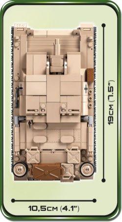 COBI STUG III Tank Length