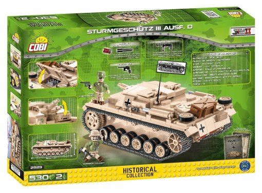 COBI STUG III Tank Set Amazon