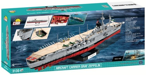 Cobi Aircraft Carrier Graf Zeppelin Set