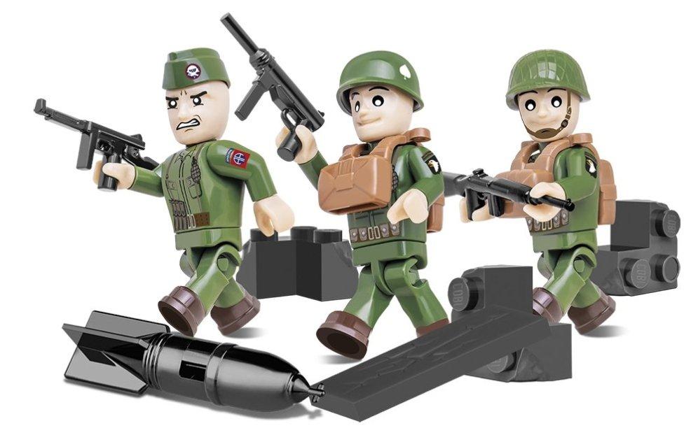 Cobi American Airborne Figure Set