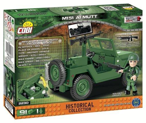 Cobi M151 A1 MUTT Jeep Details