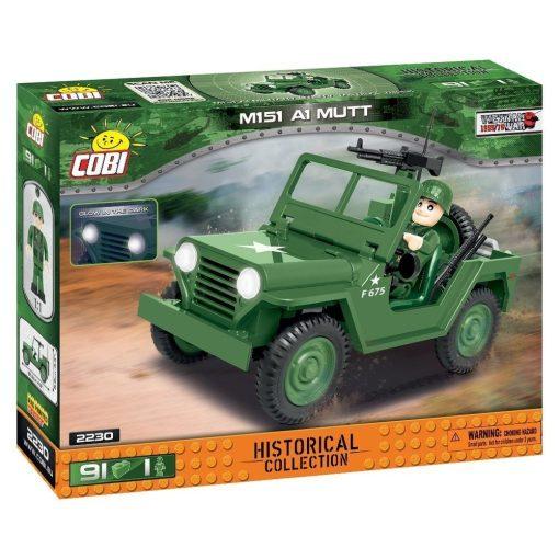 Cobi M151 A1 MUTT Jeep Set