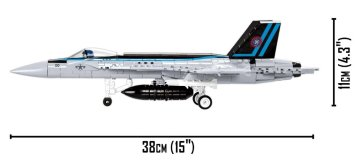 TOP Gun COBI F18 5805 Length