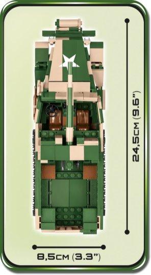 2535 M3 Gun Motor Carriage Size