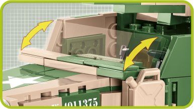COBI 2535 M3 Gun Motor Carriage armor