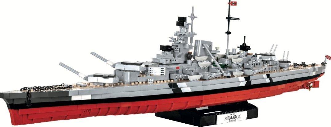 COBI Battleship Bismarck Set (4819) Lego Display