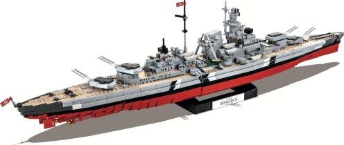 COBI Battleship Bismarck Set (4819) USA Store