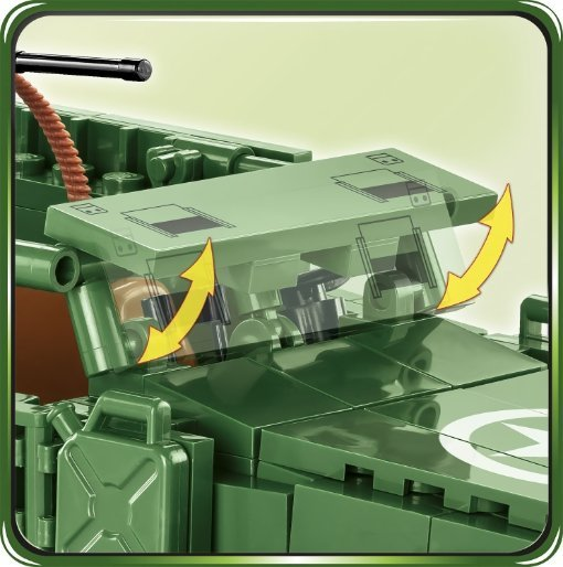 COBI M3 Armored Half-Track Set (2536) Shield