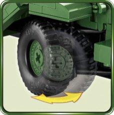 COBI M3 Armored Half-Track Set (2536) Tires