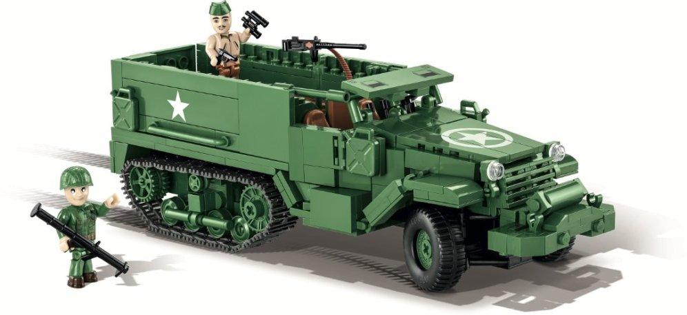 COBI M3 Armored Half-Track Set (2536) USA Store