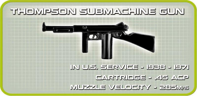 COBI M3 Gun Motor Carriage Set (2535) Thomson
