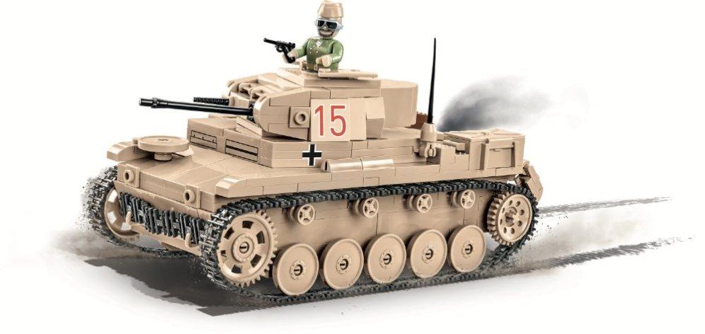 COBI Panzer II Ausf.F Tank Set USA store War bricks USA