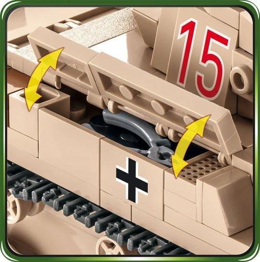 COBI Panzer II Ausf.F toolbox details