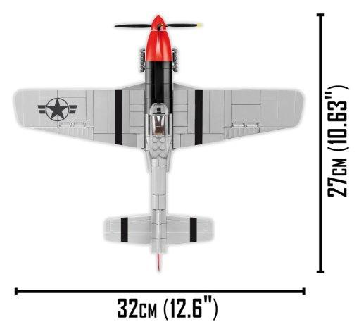 COBI Top Gun P51D Mustang Set Width