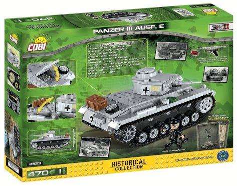 COBI PANZER III Ausf. E Tank Set
