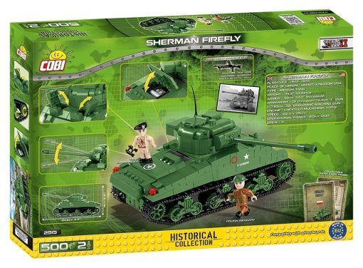 COBI Sherman Firefly Set (2515) Amazon