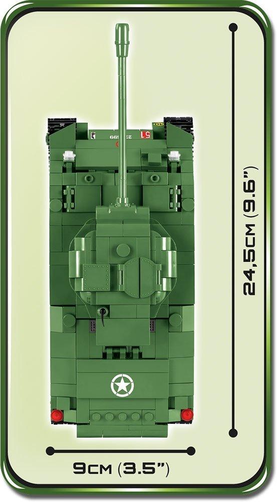 COBI Sherman Firefly Set (2515) Size