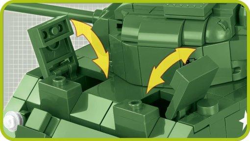COBI Sherman Firefly Set (2515) hatches