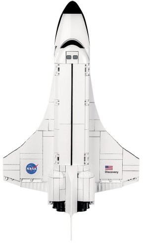 COBI Space Shuttle Discovery (2107A) USA Store