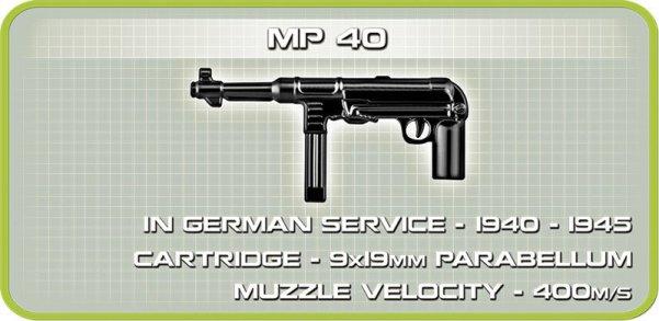 COBI Sturmpanzer II Tank MP 40