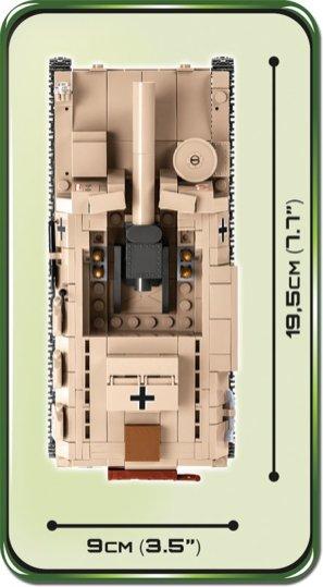 COBI Sturmpanzer II Tank Size