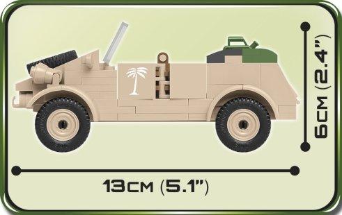 COBI Type 82 Kubelwagen Set (2402) Size