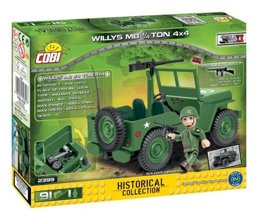 COBI Willy's MB 1_4 Ton 4X4 Set (2399)