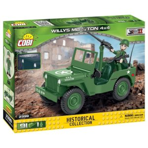 COBI Willy's MB Jeep Set (2399)