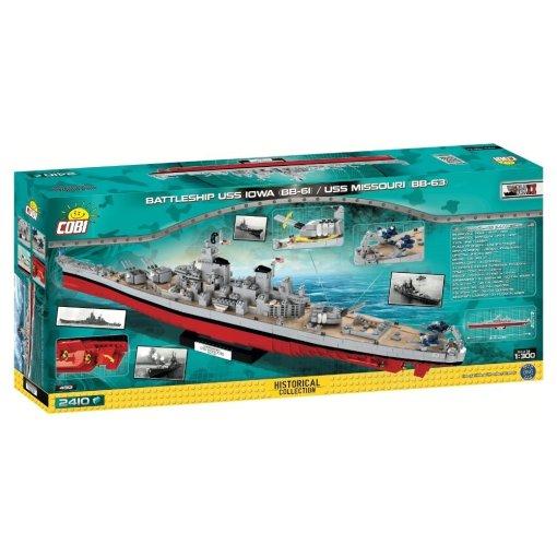 COBI 4812 USS Iowa - USS Missouri Details