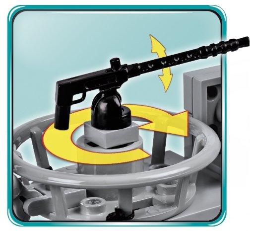 COBI U-48 U-Boat Submarine Set (4805) Machine Gun
