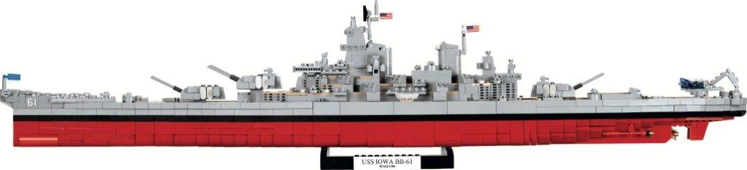 COBI USS IOWA_ USS MISSOURI SET (4812) USA Store