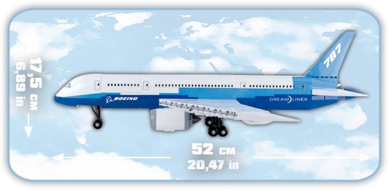 COBI 787 Dreamliner Size
