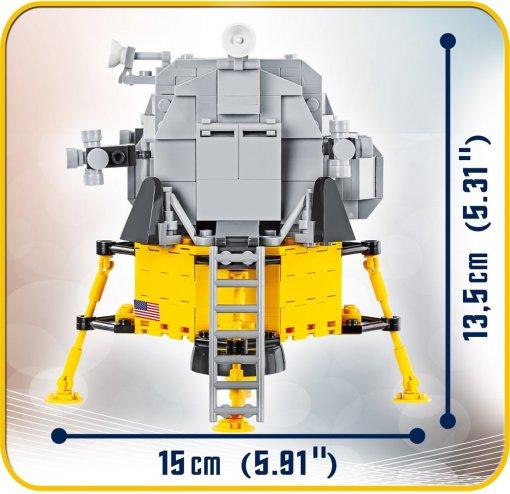 COBI APOLLO 11 SET (21079) Size