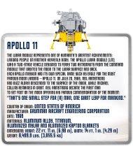 COBI APOLLO 11 SET (21079) Spec Sheet
