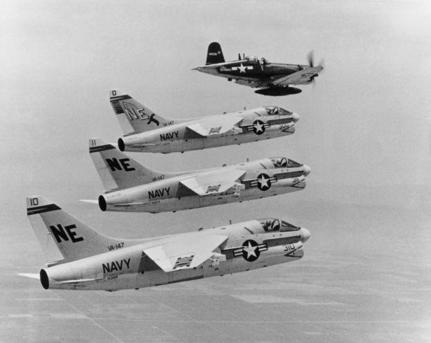 COBI AU-1 Corsair Set (2415) With jets