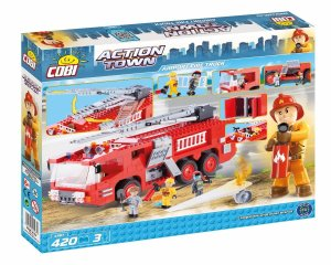 COBI Airport Fire Truck Set (1467) USA