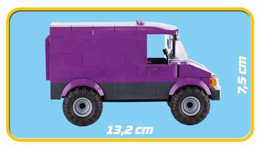 COBI Bank Robbery Set (1566) Truck
