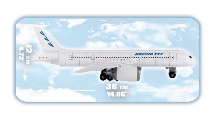 COBI Boeing 777 Set (26261) length