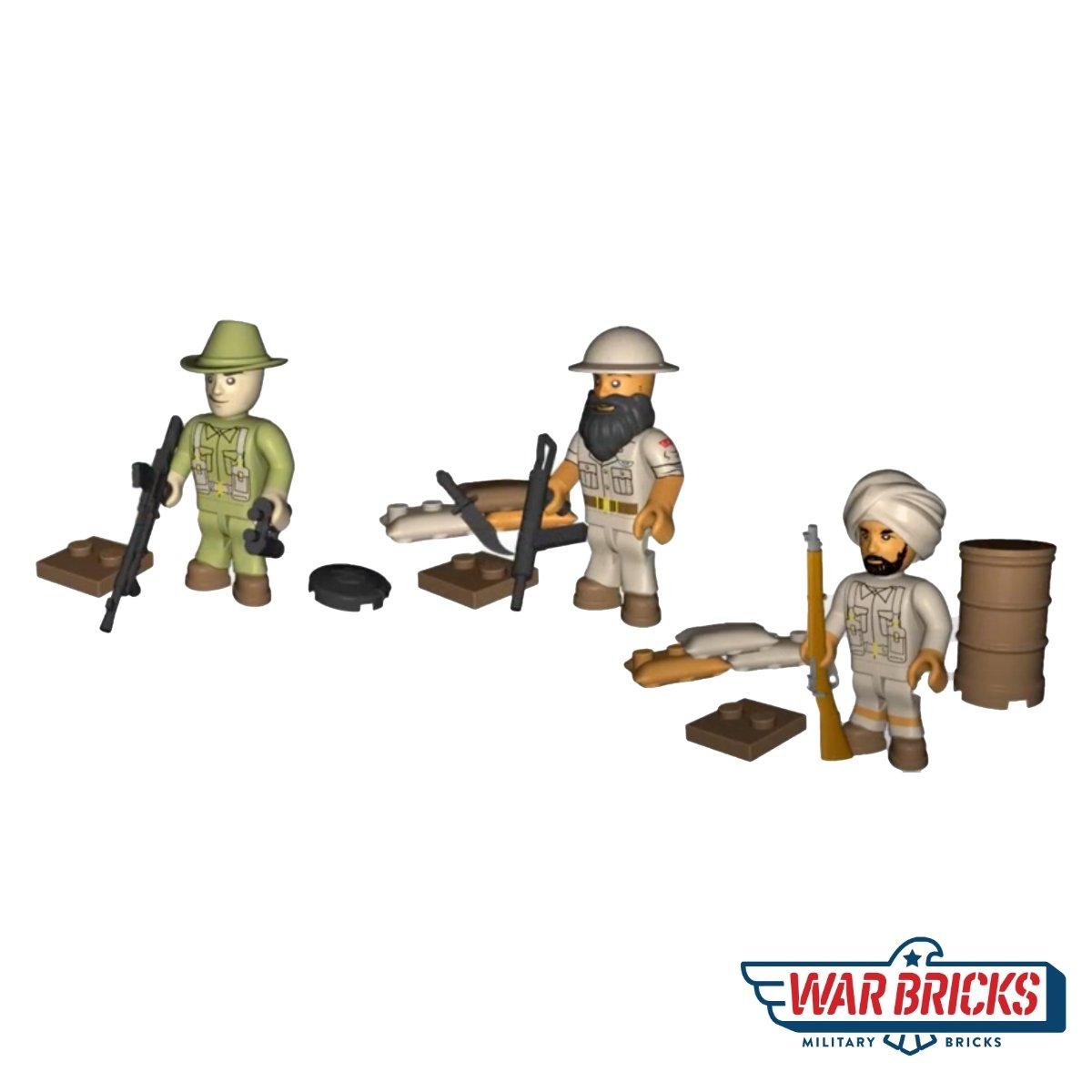 COBI British SAS Figure Set (2036)