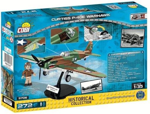 COBI CURTISS P-40E WARHAWK Set (5706) Box