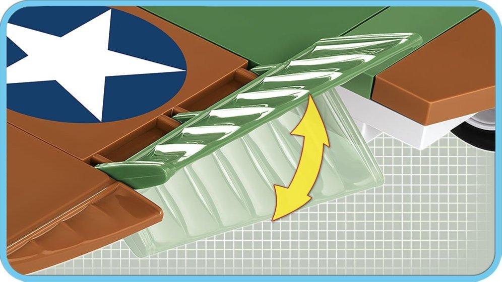 COBI CURTISS P-40E WARHAWK Set (5706) Flaps