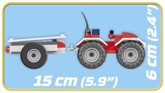 COBI Fire Patrol Unit Set (1444) Size