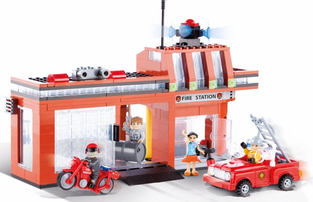COBI Fire Station Set (1466) Best Price