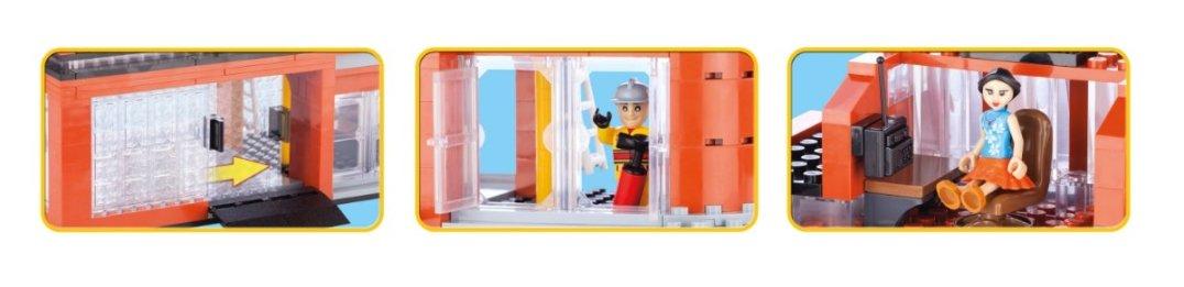 COBI Fire Station Set (1466) Details