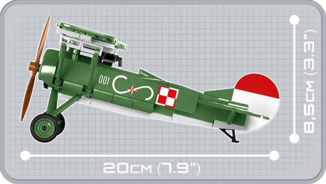 COBI Fokker EV D.VIII Set (2976) Size