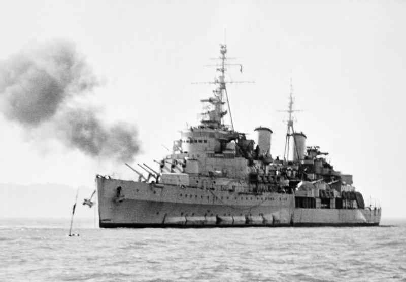 COBI HMS Belfast Light Cruiser (4821) Korea